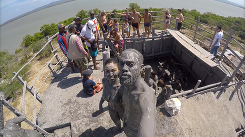 Cartagena Mud Selfie
