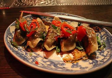 jiaozi - beef short rib & bone marrow po