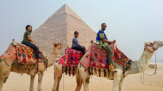 African Royalty in Egypt