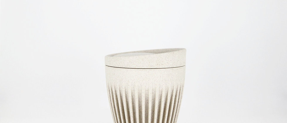 6oz Natural HuskeeCup with Lid