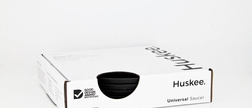 Charcoal Huskee Universal Saucer (4-pack)