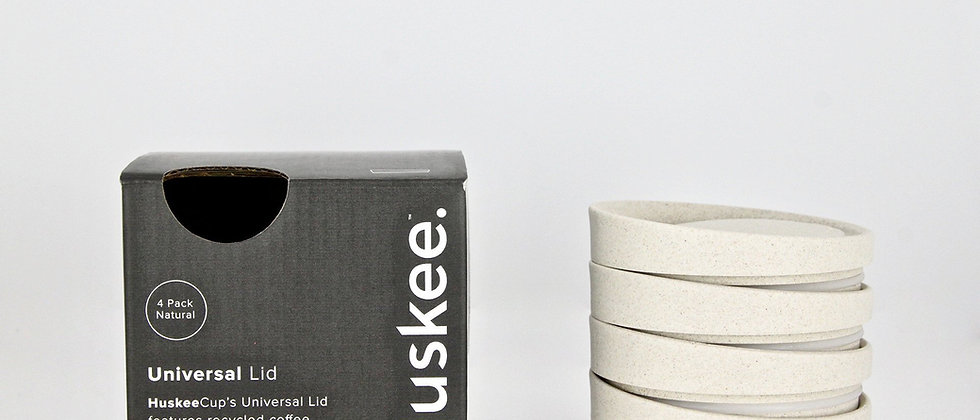 Natural Huskee Universal Lids (4-pack)