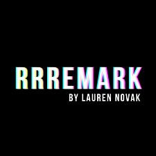 The first logo created for Remark By Lauren.
