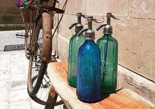 Botellas Cristal soplado