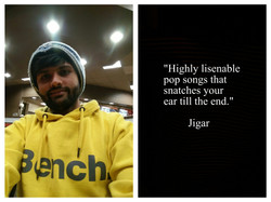 Jigar's Review