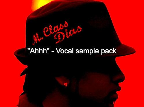 """AHHH""-Vocal Sample Pack"