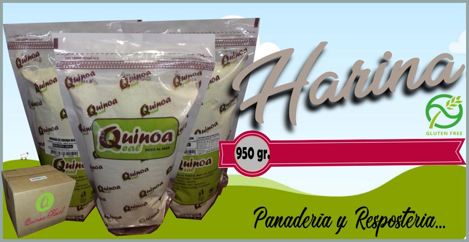 Harina de Quinoa Fraccionada: