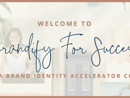 SNEAK PEEK! | Brandify For Success - online course that teaches you how to craft a compelling brand
