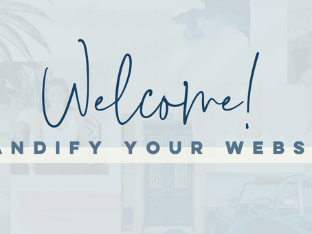 Welcome to Brandify Your Website! an online website design course