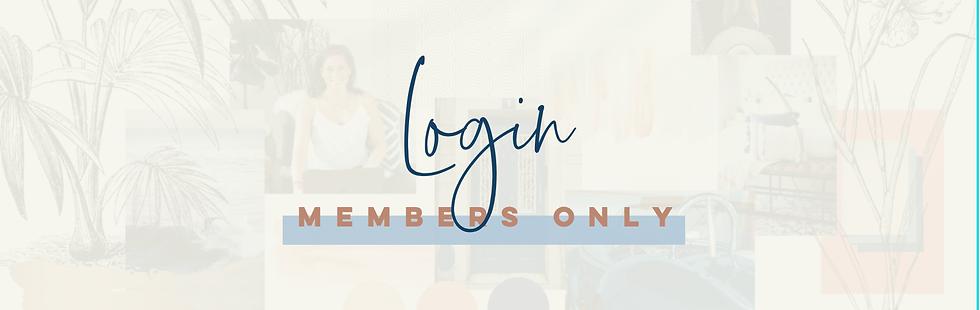 Members Login for Brandify OnLine Course