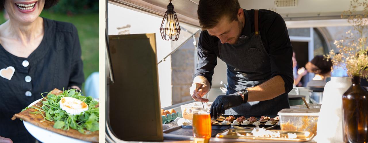 La Capitainerie food truck et traiteur crepier brest bretagne eco responsable
