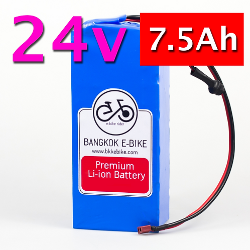 Li-ion Battery 24V 7.5Ah  แบตเตอรี่