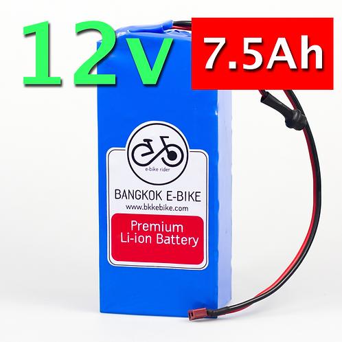 Li-ion Battery 12V 7.5Ah  แบตเตอรี่