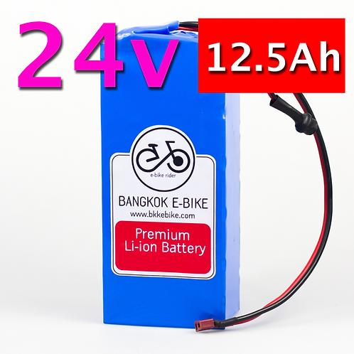 Li-ion Battery 24V 12.5Ah  แบตเตอรี่
