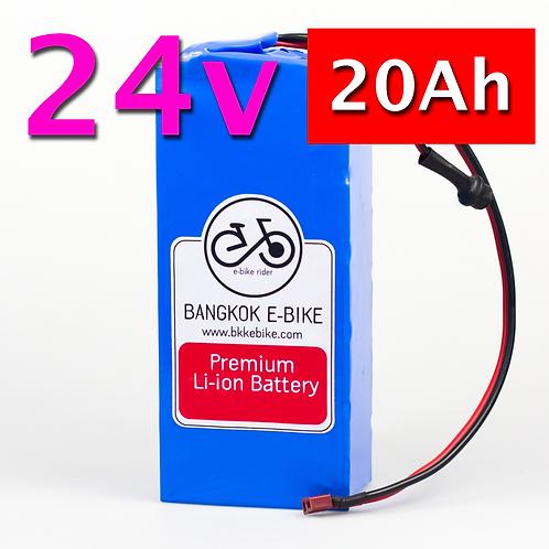 Li-ion Battery 24V 20Ah  แบตเตอรี่