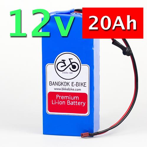 Li-ion Battery 12V 20Ah  แบตเตอรี่