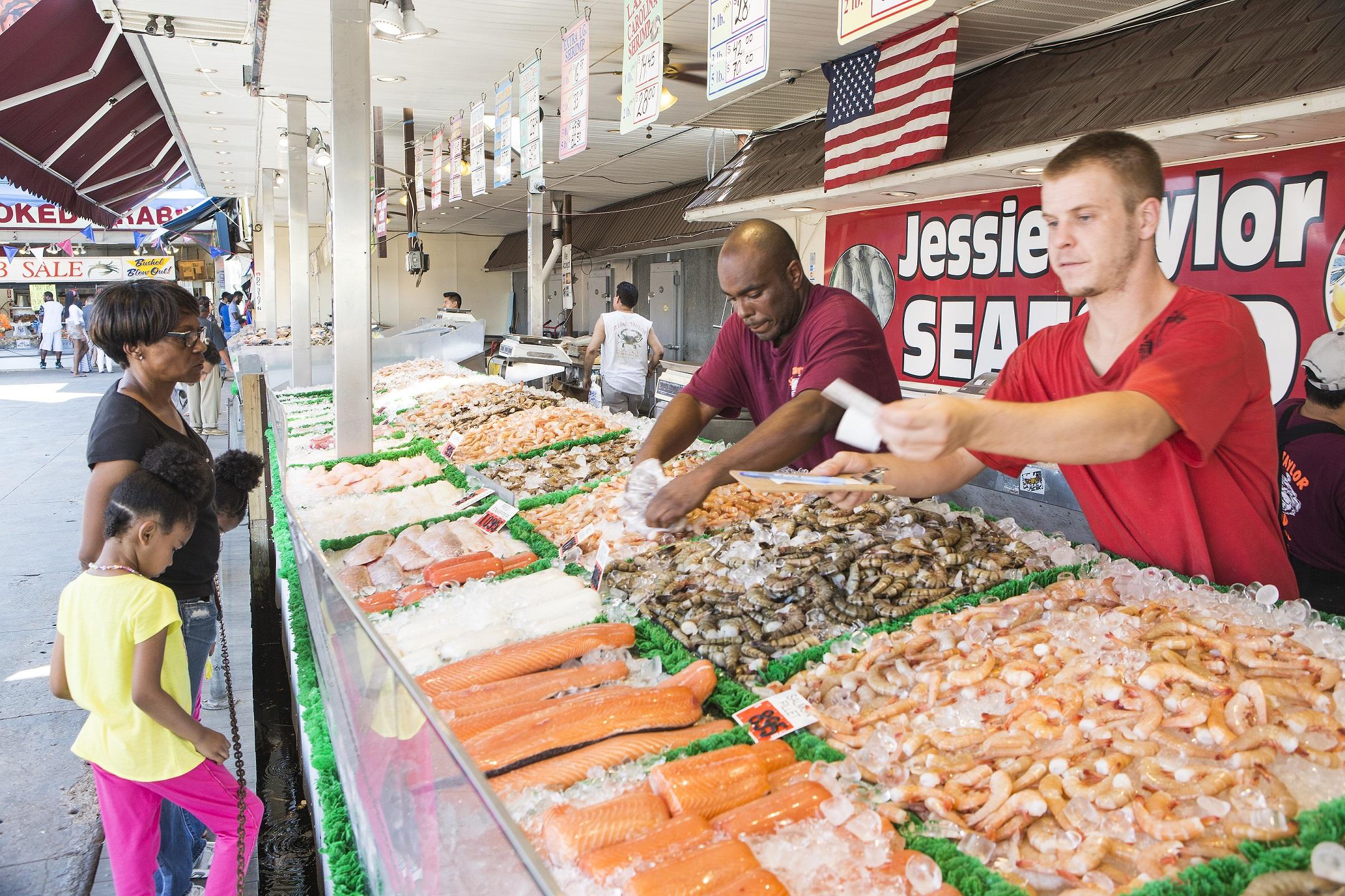Wix Ready Fish Market