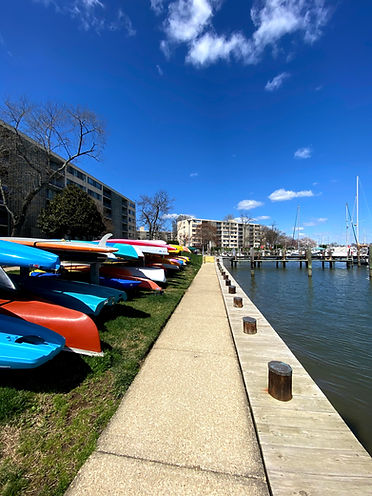 Kayaks by the Docks - The Marina at Nautilus Point - Annapolis, MD - Oasis Marinas
