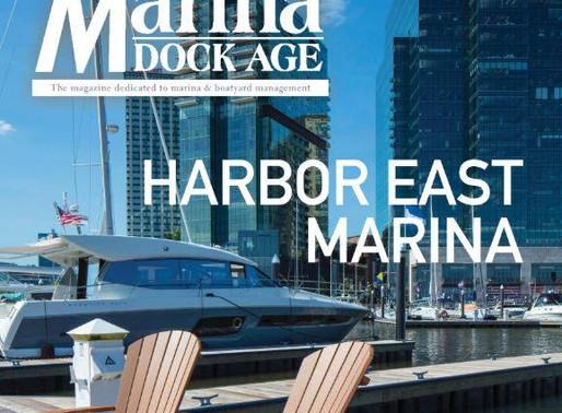 Harbor East Marina Featured in Marina Dock Age Magazine