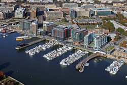 District WHARF Aerial #7036 111717 Lkg N