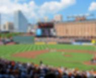 Inner Harbor Marina - Baltimore - Oriole Baseball Stadum