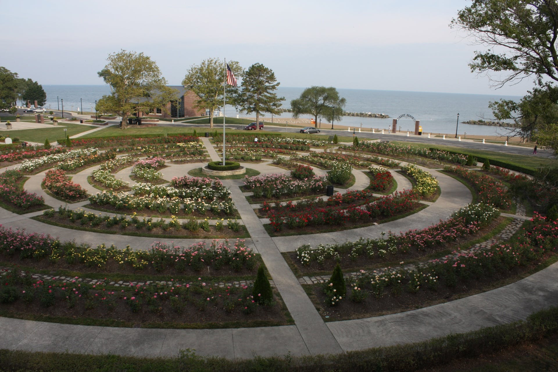 Lakeview Park Rose Garden
