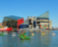 Inner Harbor Marina - Baltimore - National Aquarium
