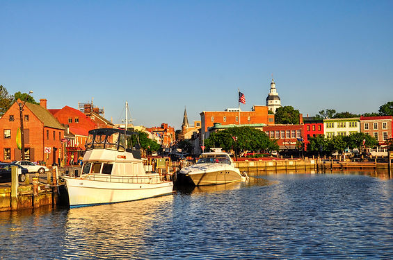 Annapolis Harbor, nicknamed _Ego Alley_