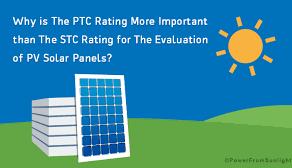 Solar Module Ratings: STC/PTC