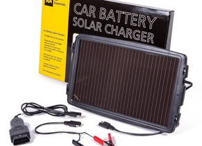 Solar Battery Car Charger