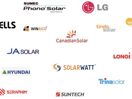 Solar Panel Brand Classification