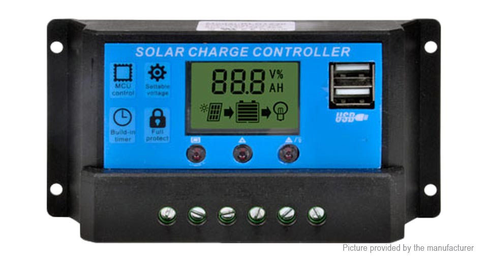 A PMW solar charge controller.