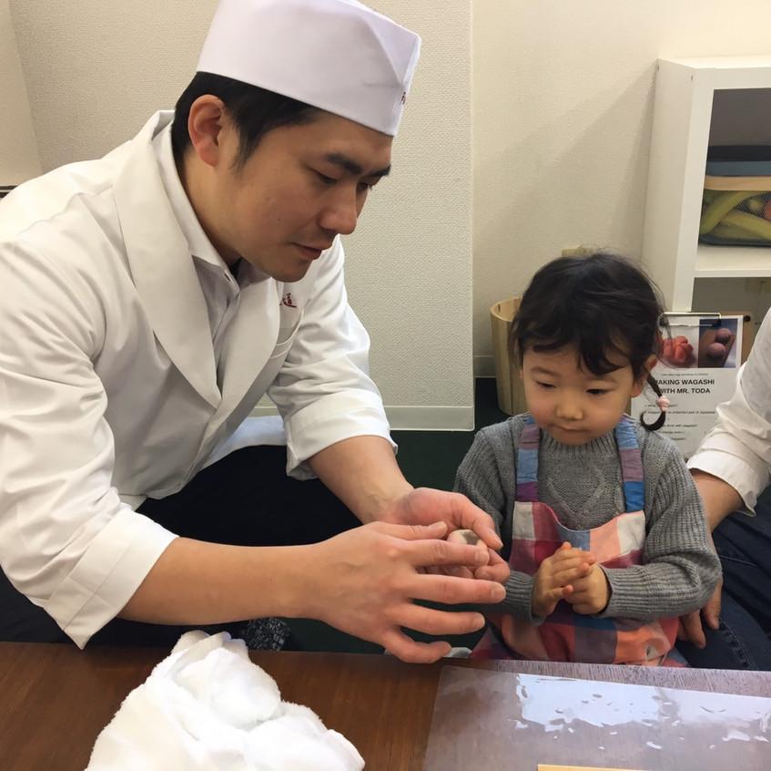 Mr. Toda teaching his 'turn' technique.