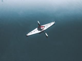 カヌーを楽しもう Canoeing in Kaminoyama
