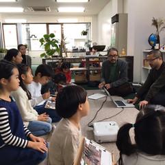 イラストレーションと年賀状ワークショップ Illustration and Nengajo Workshop