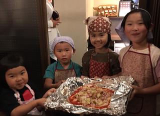 ランテルナロッサでピザ作り Pizza Making at Lanterna Rossa