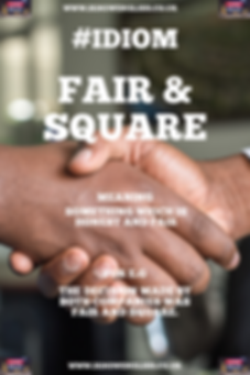English Idiom fair and square.PNG