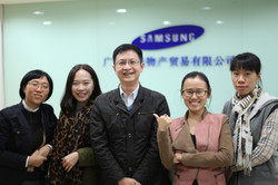 Some of my students at Samsung