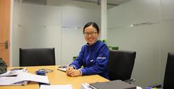 My student Demi at Samsung