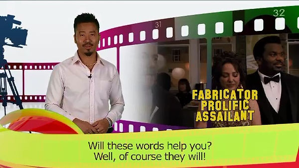 Marvin doing a movie review to improve your English