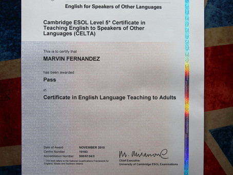 CELTA or TEFL?
