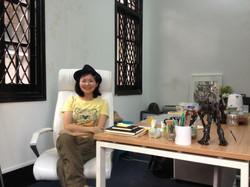 Vivian at English class