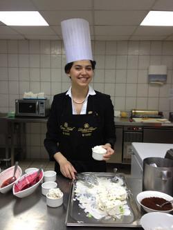 Oksana at the Donbass Palace Hotel