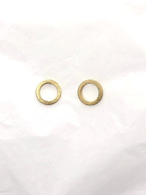 Dansk: 14K Gold over Copper Earrings