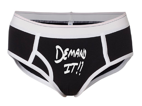 DEMAND IT!! Black & White Boyfriend Brief