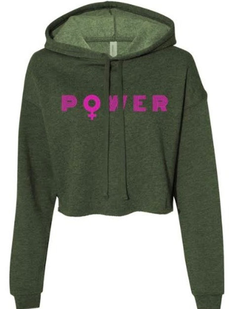 CROPPED POWER HOODIES