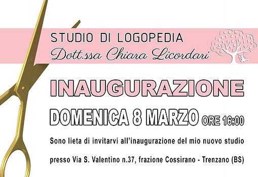 Inaugurazione Studio di Logopedia Dott.s