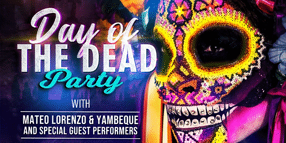 """""""Day Of The Dead"""" Party"""