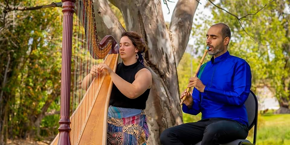 Fringe World: Reunited - Esfandir Shamir and Kira Gunn play Iranian Folk Music
