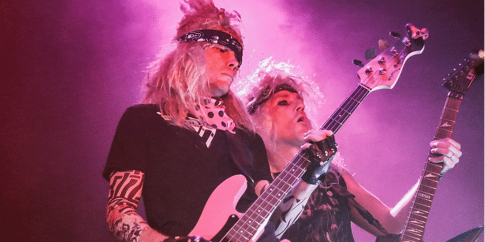 Hair Metal Heaven with special guest Ben Gray